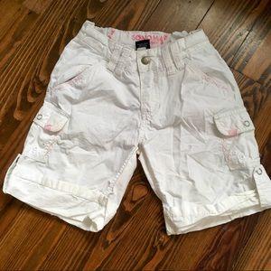$2 BBB Item! Girls Sonoma White Cargo Shorts